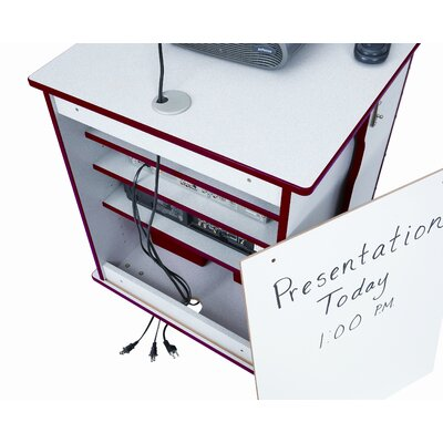 Jonti-Craft Lockable Presentation Carts