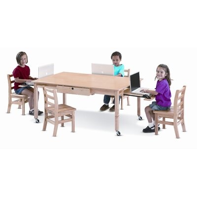 Jonti-Craft Locking Laptop Table