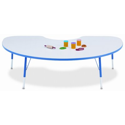 Jonti-Craft KYDZ Kidney Laminate Activity Table