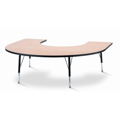 Jonti-Craft KYDZ Horseshoe Laminate Activity Table