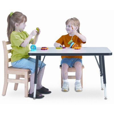 Jonti-Craft KYDZ Rectangle Laminate Activity Table