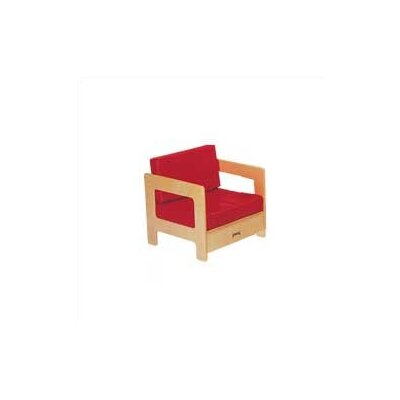 Jonti-Craft Red Easy Kid's Chair