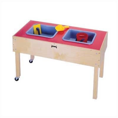 Jonti-Craft 2 Tub Sand-n-Water Table - Toddler