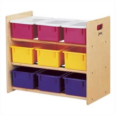 Jonti-Craft Tote Storage Rack - 9 Tray