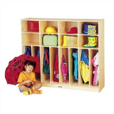 "Jonti-Craft Neat-n-Trim Lockers - 60"" - 8 Sections"