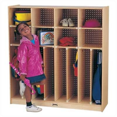 "Jonti-Craft Neat-n-Trim Lockers - 48"" - 8 Sections"