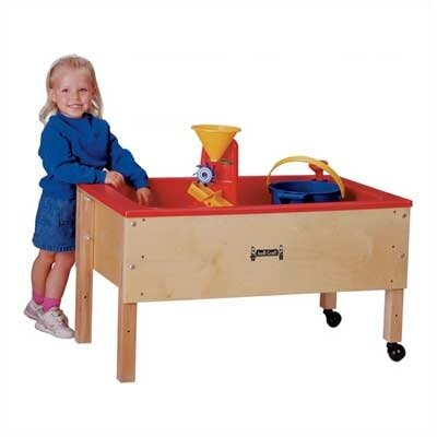 Jonti-Craft Space Saver Sand-n-Water Table - Toddler Height
