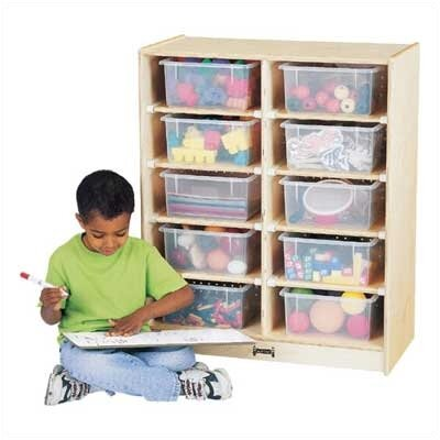 Jonti-Craft Tub Single 10 Compartment Cubby