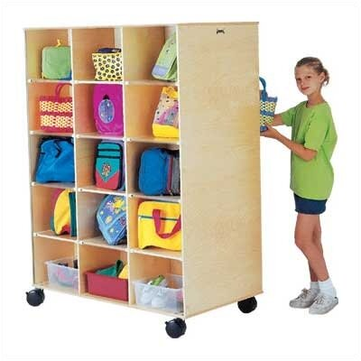Jonti-Craft Big Twin 15 Compartment Cubby