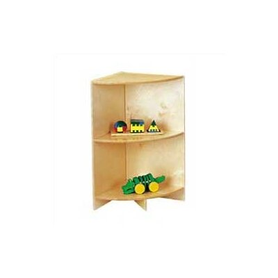 "Jonti-Craft KYDZ Curves 29"" H Corner Bookcase"