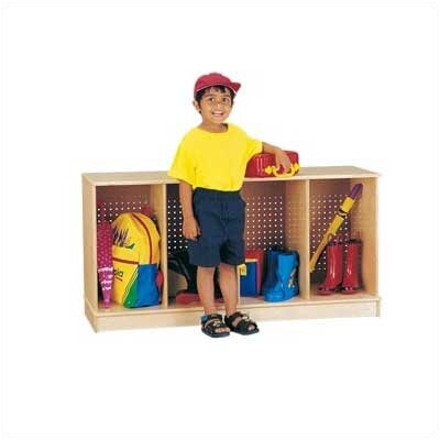 Jonti-Craft Stacking Open Lockers - 4 Sections