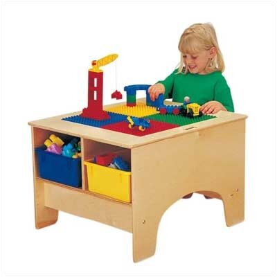 Jonti-Craft KYDZ Building Table - Lego® Compatible