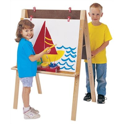 Jonti-Craft Write-n-Wipe Easel Panels - Double