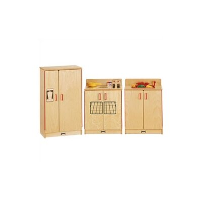 Jonti-Craft Natural Birch Kitchen Set (3 piece)