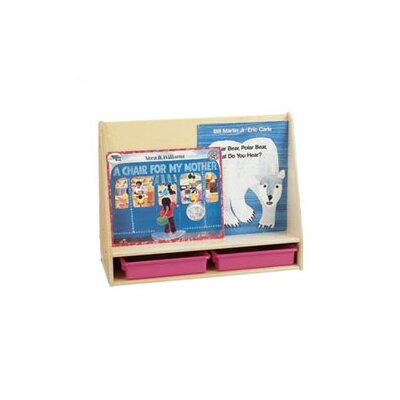 "Jonti-Craft 24"" H Small Mobile Pick-a-Book Stand - 1 Sided"