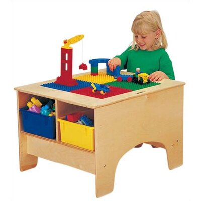 Jonti-Craft KYDZ Building Table - Duplo Compatible with Tubs