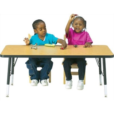 "Jonti-Craft KYDZ  Activity Table - Rectangular (24"" x 48"")"