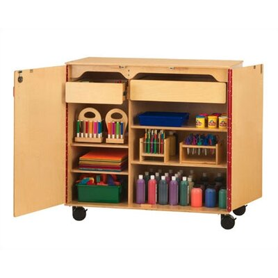 Jonti-Craft Mega-Supply Cabinet