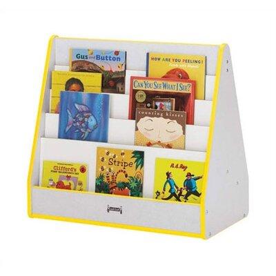 "Jonti-Craft Rainbow Accents 28"" Triangular Book Display Stand"