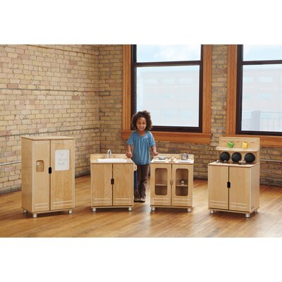 Jonti-Craft TrueModern Play Kitchen (Set of 4)