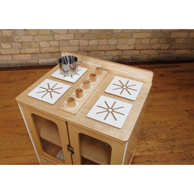 Jonti-Craft TrueModern Play Kitchen Stove