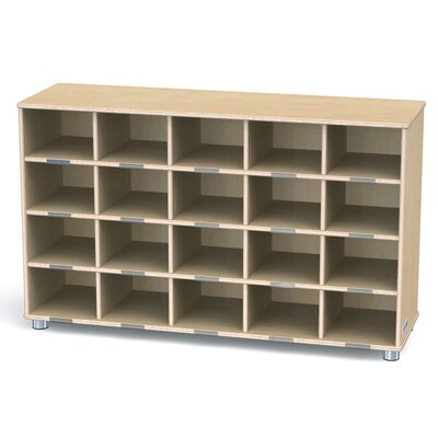 Jonti-Craft TrueModern Twenty-Cubbie Shelf