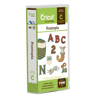 Cricut Fontopia Cartridge
