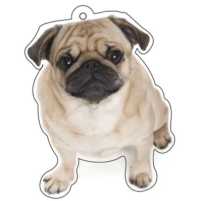 Little Gifts Pug Air Freshener (Set of 3)
