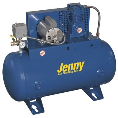 Jenny Products Inc 30 Gallon 3 HP Single Stage Electric Stationary Air Compressor