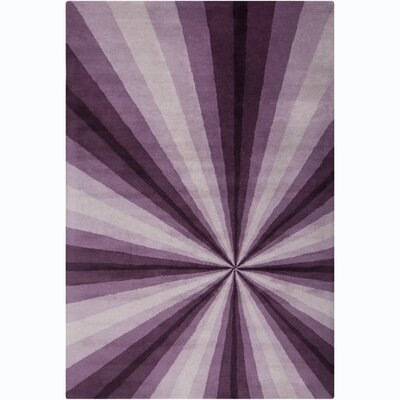 Filament Cinzia Lavender Abstract Rug