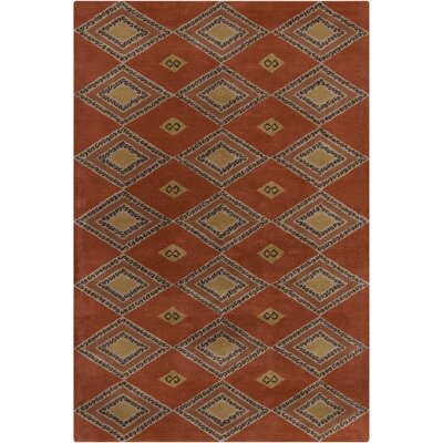 Filament Cinzia Rust Abstract Rug
