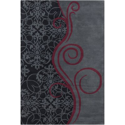Filament Cinzia Dark Grey Mix Abstract Rug