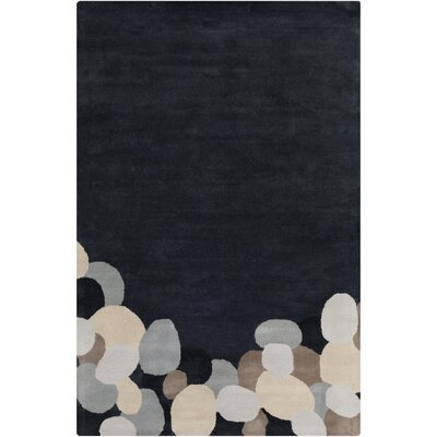 Filament Cinzia Dark Grey Abstract Rug