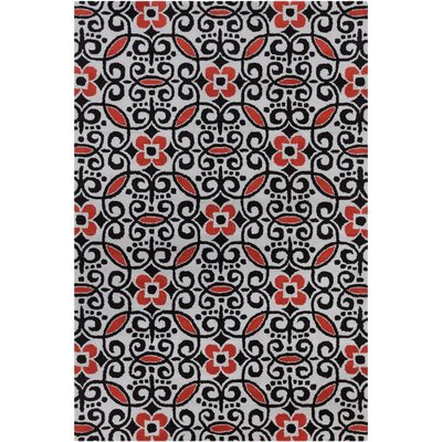 Filament Cinzia Black Abstract Rug