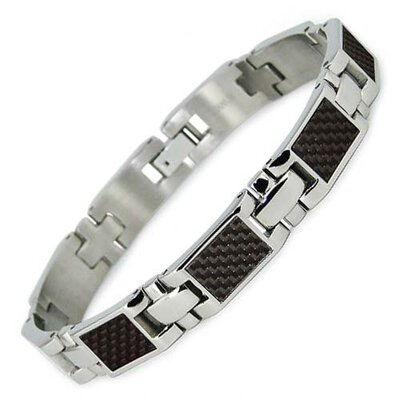 Bonndorf Laboratories Carbon Fiber Inlay Titanium Bracelet