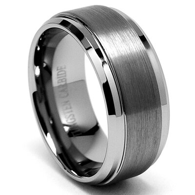 Bonndorf Laboratories Men's Tungsten Wedding Comfort Fit Band