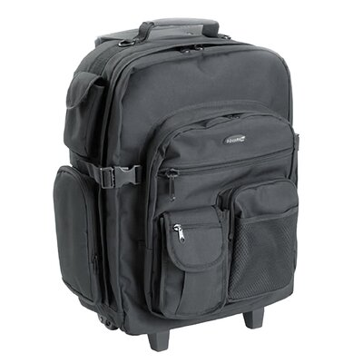 Square Perfect Rolling Camera Case Backpack