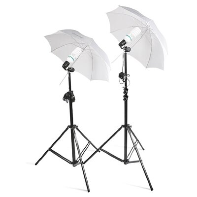 Square Perfect 2 Photo Studio Lighting Umbrella Stand Photography Light Kit
