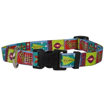 Yellow Dog Design Retro Christmas Standard Collar