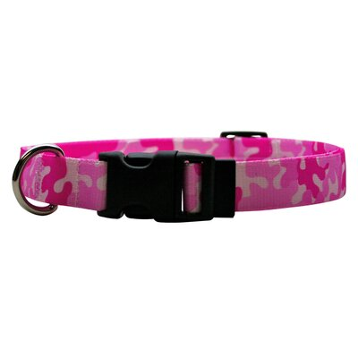 Yellow Dog Design Camo Standard Dog Collar