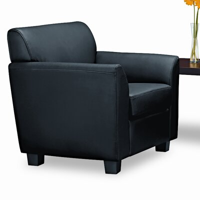 HON Basyx Tailored Leather Club Chair