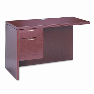 "HON 11500 Series 29.5"" H x 48"" W Valido Left Desk Desk Return"