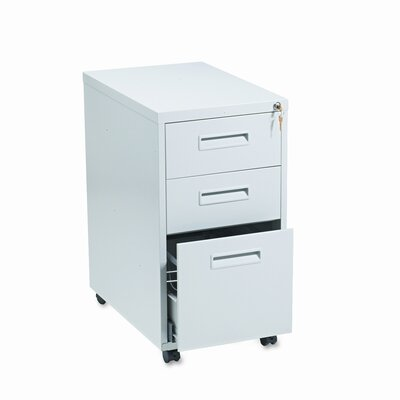 HON 1600 Series 3-Drawer Mobile  File