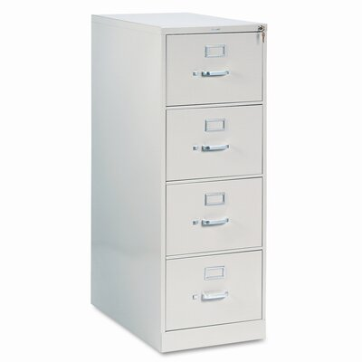 HON 210 Series Four-Drawer Legal Vertical File