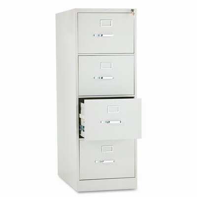 HON 310 Series Four-Drawer Legal Vertical File