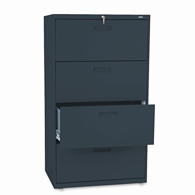 HON 500 Series 4-Drawer Mobile File