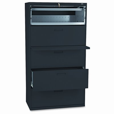 HON 500 Series 5-Drawer Mobile File