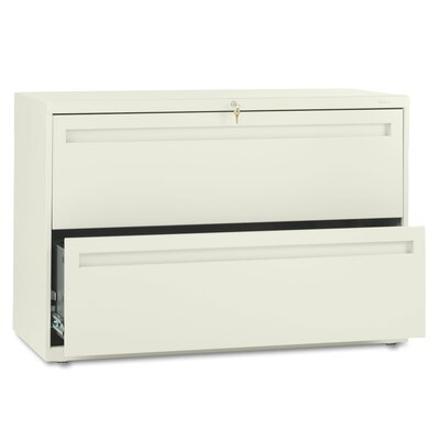"HON 700 Series 42"" W Two-Drawer Lateral File"