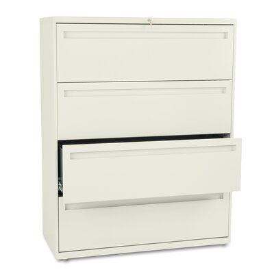 "HON 700 Series 42"" W Four-Drawer Lateral File"