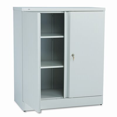 HON Basyx Easy-To-Assemble Storage Cabinet, 36W X 18D X 42-3/4H